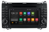 Android 5.1 / 1.6 GHz Leitor de DVD portátil Car DVD GPS para Mercedes Benz a / B 2012 Antes com conexão WiFi Hualingan