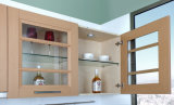 Puerta de cabina laminada de cocina del PVC (zc-079)