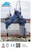 Grue télescopique de bateau de boum des appareils de manutention 2t7m&7t10m de bateau