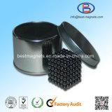 Kugel-Form NdFeB Magnet gepackt im Zinn-Kasten