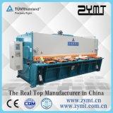 Máquina da guilhotina da placa de metal da folha, máquina de corte da guilhotina hidráulica do CNC