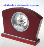 هبة محدّد خشبيّة مكتب ساعة [ك8002] هيكليّة ساعة عدة هبة محدّد عمل تذكار وإعطاء