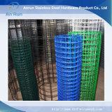 La rete metallica saldata con galvanizzato o PVC ha ricoperto