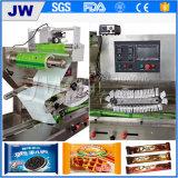 Máquina del conjunto del alimento de la torta de luna del chocolate de la torta del pan del caramelo