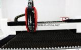 Ouvrir-Type de Commande Numérique par Ordinateur Machine de Découpage de Laser de Fibre pour le Métal