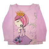 Catoon를 가진 아이들의 의류에 있는 아이 소녀 t-셔츠
