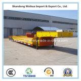 Reboque de China Lowbed Semi, 3 linhas 6 reboque pesado do equipamento dos eixos para a venda
