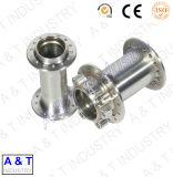 Peças inoxidáveis personalizadas CNC da máquina da liga de alumínio Steeel/