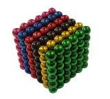 Personalizado Bola colorida magnética de neodímio forte para brinquedos infantis