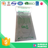Мешок HDPE плоский на крене для супермаркета