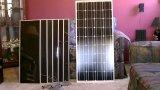 panneau solaire mono de 12V 100W pour le système de hors fonction-Réseau