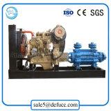 Pompa centrifuga motorizzata diesel a più stadi di irrigazione di capacità elevata