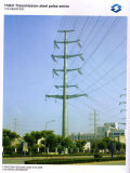 110kv het Staal Pool van de Transmissie van de elektriciteit