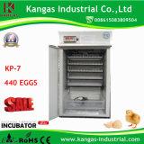 Incubateur automatique industriel d'oeufs de canard pour la volaille Hatcher