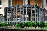 Функциональное полностью готовый здание стальной структуры обслуживания полуфабрикат