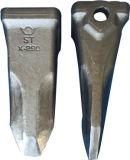 Het Smeedstuk van het Staal van de Delen van het Graafwerktuig van Daewoo van de Kat van KOMATSU voor Tanden 17 van de Emmer