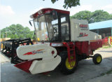 4lz-8車輪のタイプ水田のコンバイン収穫機