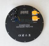 가장 새로운 RGBWA+UV 21X15W 옥외 방수 LED PAR64 단계 빛