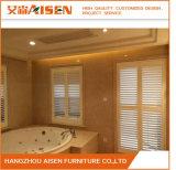 優雅なホーム家具速い配達実質の木製のプランテーションシャッター