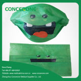 Printing를 가진 처분할 수 있는 Non-Woven 3 Ply Surgical Face Mask