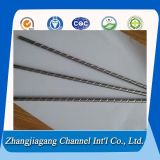 304 Corrugated Stainless Steel Pipes for Heat Exchanger