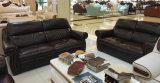 Sofá de América, sofá de cuero, muebles caseros, sofá de la combinación (A57)