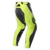 OEM professionale giallo dell'attrezzo del MX di motocross di Black& che corre i pantaloni (MAP10)
