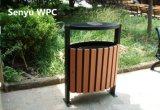 Poubelle extérieure respectueuse de l'environnement de WPC