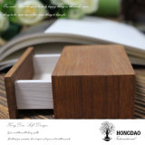 Casella di legno della corrispondenza di Hongdao con il cassetto