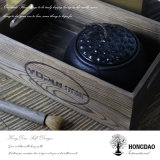 Hongdao Customized Wooden Crafts Box Flower Box_E