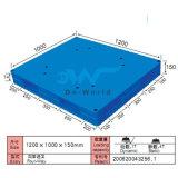 Flache Oberflächen-Doppelt-Gesichts-Plastikladeplatte Dw-1210c1
