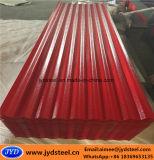 カラーオレンジ皮が付いている上塗を施してあるPPGI鋼鉄屋根シート