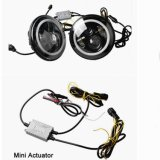 7 pulgadas Ronda de 40W Hi / Lo de luces de carretera LED con DRL