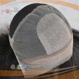 사람의 모발 최고 판매 실크 최고 Glueless 레이스 가발 (PPG-l-0761)