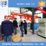 Cadena de producción revestida del proceso del bastidor de arena de la resina