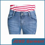 Lady Demin Cropped Jeans (JC1052)