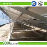 Sistema à terra do painel solar da montagem