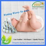 Soem-beste Qualität gesteppter wasserdichter Baby-Krippe-Matratze-Schoner