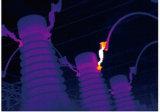 温度の手持ち型の赤外線熱探知器を点検する企業