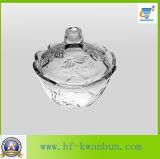 Utensilios de cocina de cristal Kb-Hn0368 del tazón de fuente del caramelo de la alta calidad