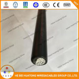 cabo distribuidor de corrente de alumínio do condutor de 600V Xhhw com o UL alistado