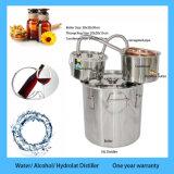 Moonshine inossidabile del distillatore dell'acqua dell'alcole dell'etanolo del rame della caldaia di vendita 18L/5 gallone di Hote ancora con il barile di colpo