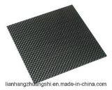 placa roja de la fibra del carbón de la hoja de la fibra del carbón de 3m m