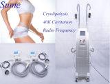 O melhor corpo 2016 ultra-sônico gordo de venda do RF da cavitação de Cryolipolysis 40k do gelo da perda de peso do produto que Slimming a máquina da beleza