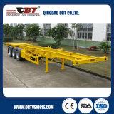 Mechanische Opschorting de Aanhangwagen van het Skelet van de Container van 40 voet