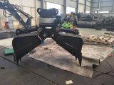 Peças novas da construção do projeto da cubeta da garra da parte superior da máquina escavadora