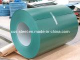 La qualité PPGI/Color a enduit la tôle d'acier/bobine en acier galvanisée enduite d'une première couche de peinture (0.13mm-1.5mm)