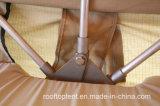 إمتداد سقف أعلى خيمة مع ألومنيوم سلّم