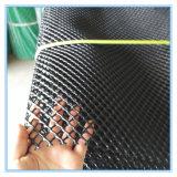 Weißes Plastikineinander greifen-Platten-Lech-Netz