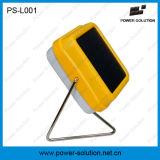 Lâmpada de mesa solar psta solar do diodo emissor de luz do calor da mão